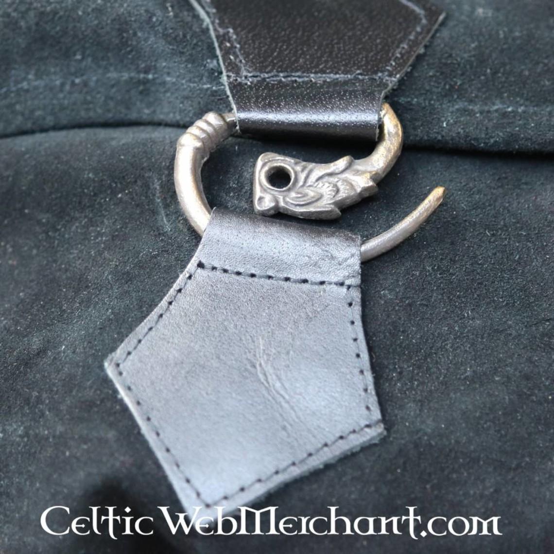 Leonardo Carbone Bolso cinturón dragón, negro