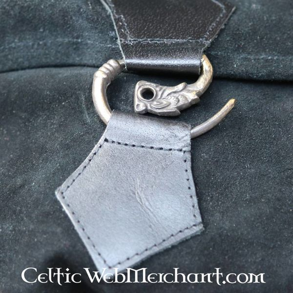 Bolso cinturón dragón, negro