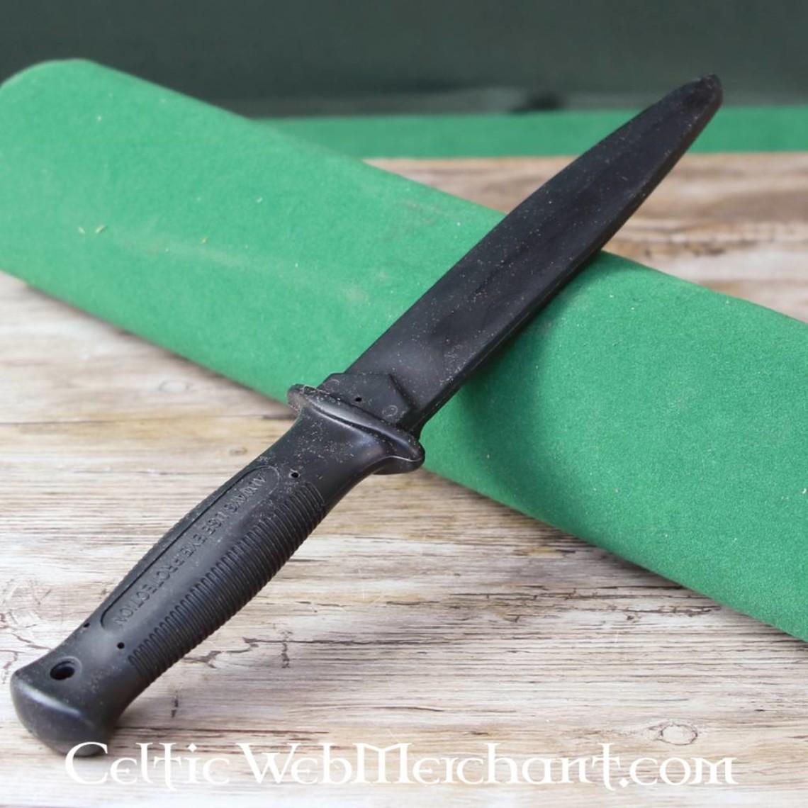 ESP Dagger d'entraînement en caoutchouc long