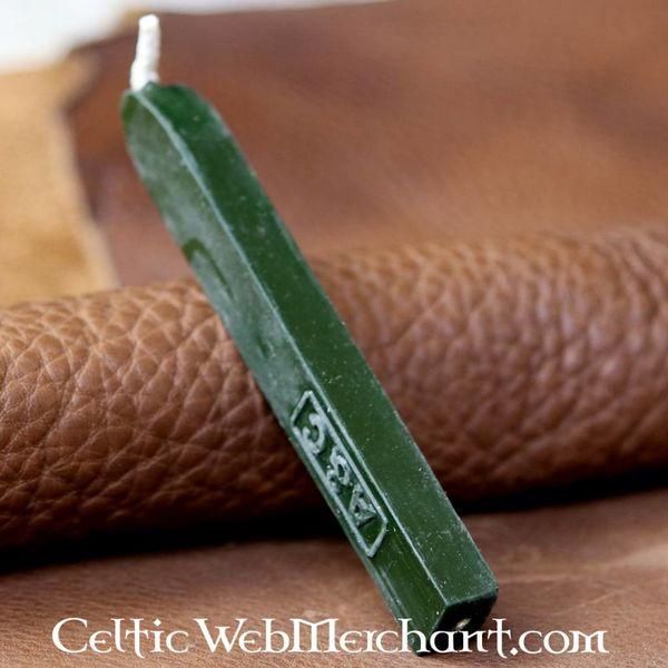 Bâton de cire à cacheter, vert
