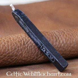 Siegelwachs-Stick, schwarz