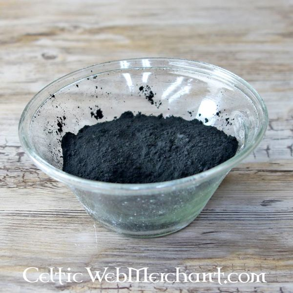 Bone, elfenben sort pigment 100 gram