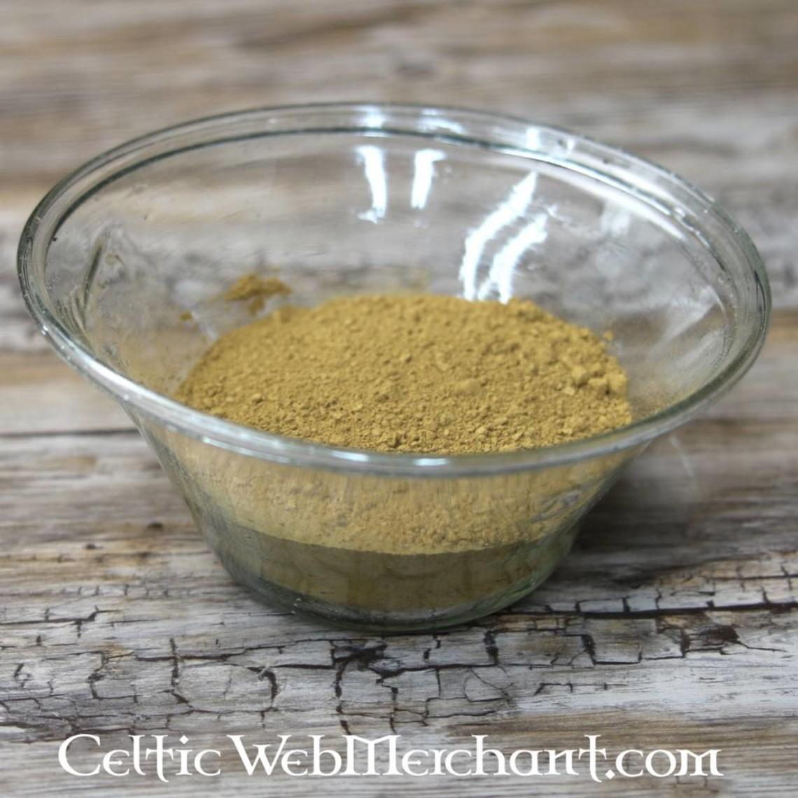 Pigment green ochre 100 grams