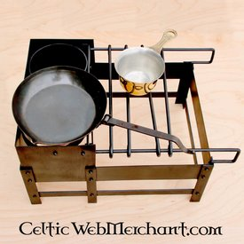 Deepeeka Estante cocina romana