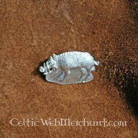 Middelalderlige badge vildsvin
