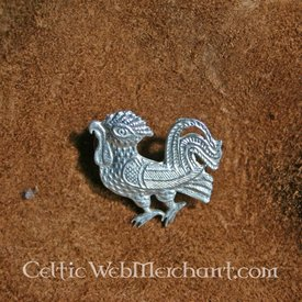 Medieval Cockerel Badge