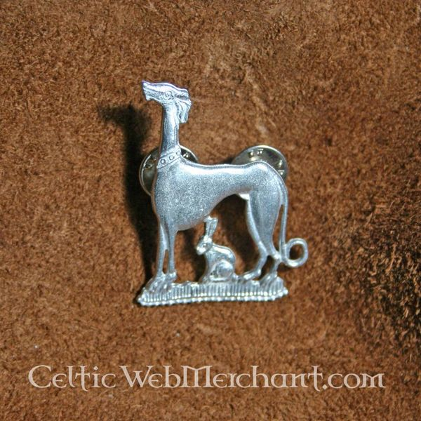 Medieval hare and hound badge