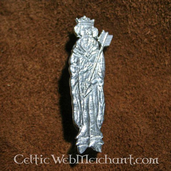 Middeleeuwse badge St. Edmund