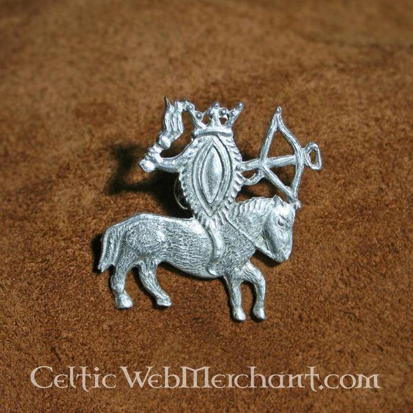 Badge vulva på hesteryg