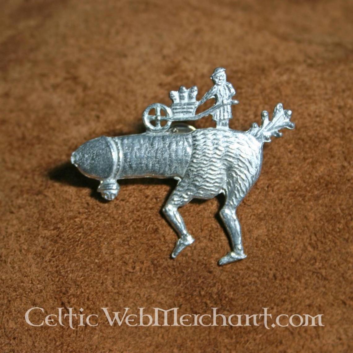 Badge running phallus