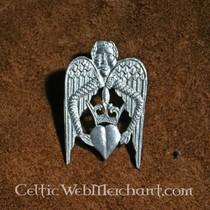 Badge Winged heart
