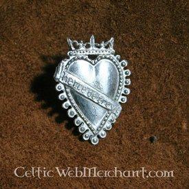 Badge 15de eeuws liefdesteken