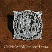 Badge Thomas Becket slain