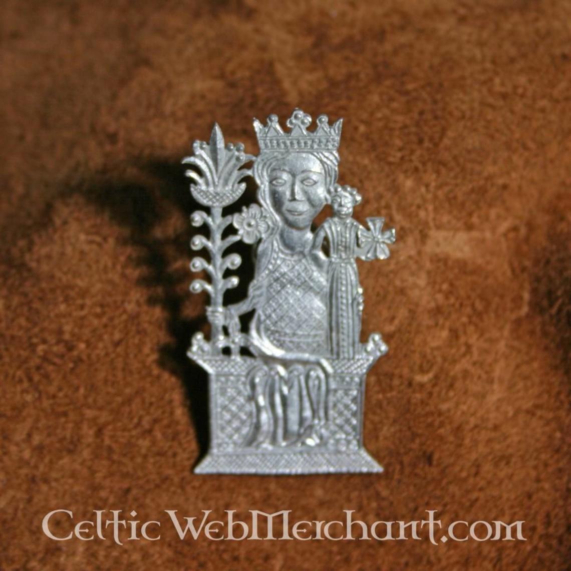 Insignia del siglo 15 Virgen de Tombelaine