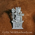 15de eeuwse badge vrouwe van Tombelaine