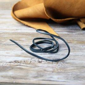 House of Warfare Dentelle en cuir noir, 130 cm