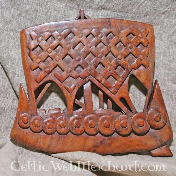 Houten vikingschip