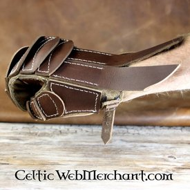 House of Warfare Gant en cuir à contact complet, main gauche