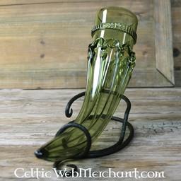 Anglosaski szkło róg zrobić picia