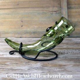Roman glas dryckeshorn