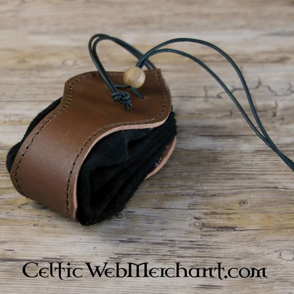 House of Warfare Luxurious suede leather pouch