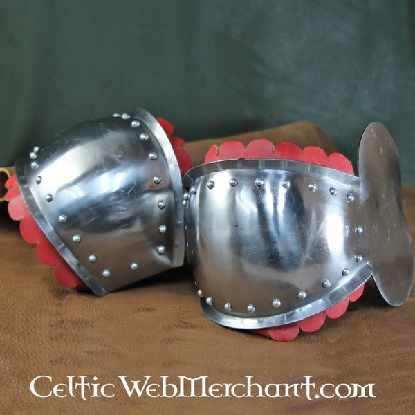 House of Warfare Knee caps with roundel