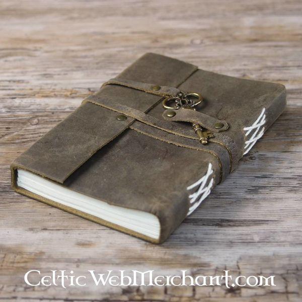 House of Warfare Leren boek met sleutel