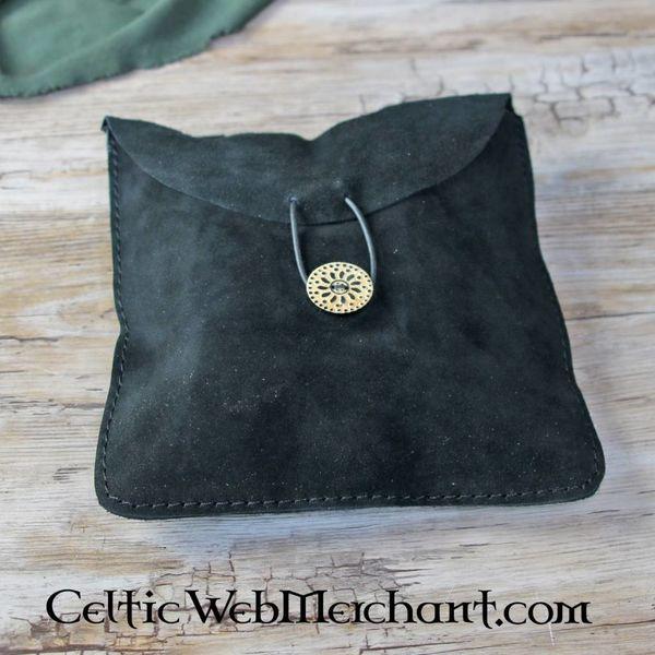 House of Warfare Suede tas Fleur medium, zwart
