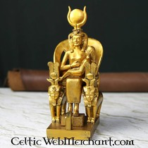 Egipska płaskorzeźba, królowa Nefertari, świątynia Nefertari, Zachodni Brzeg Teb
