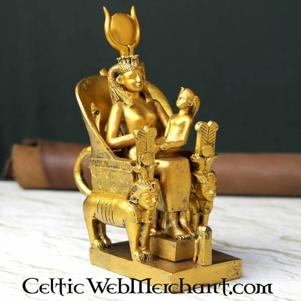 Egyptian statue goddess Isis