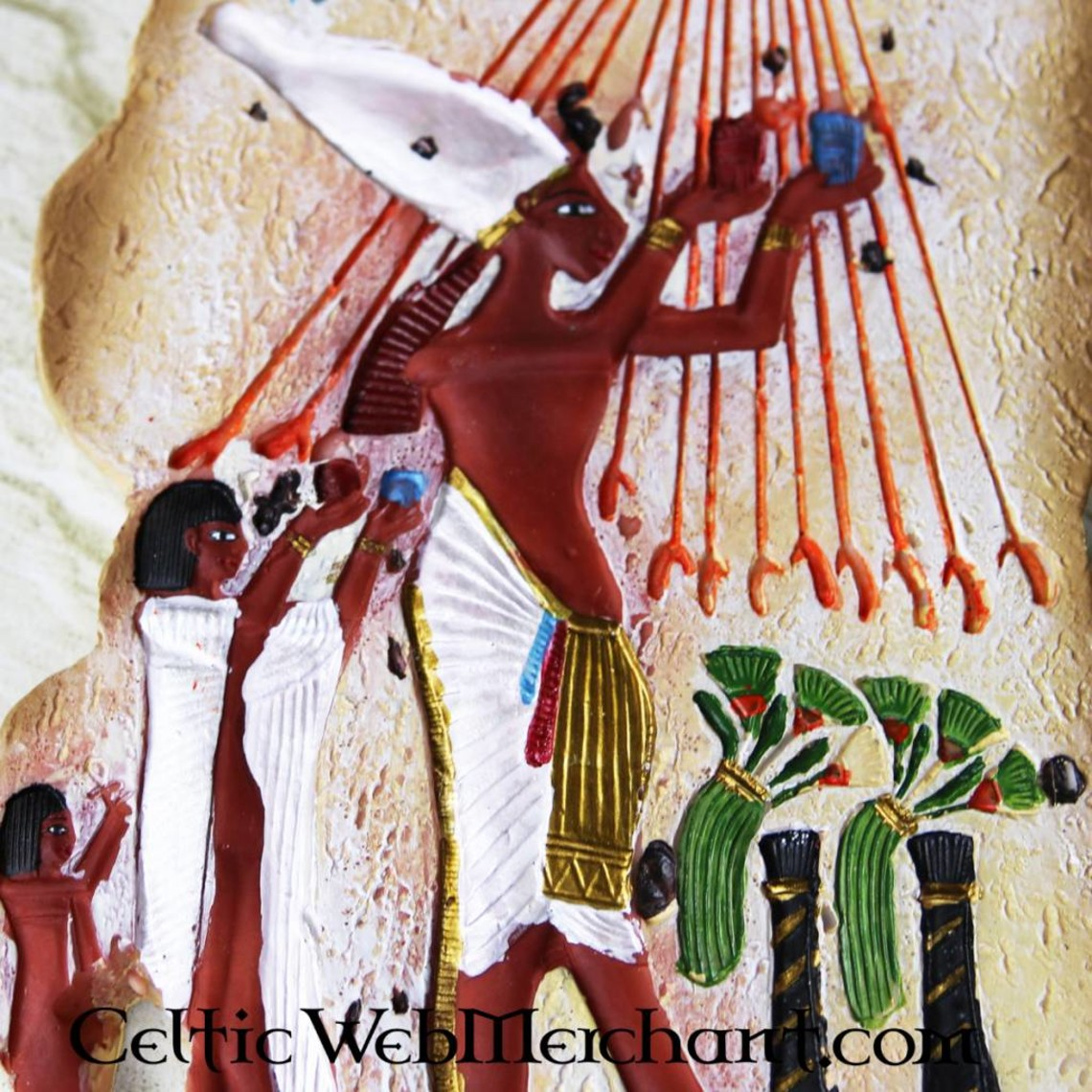 Egyptisch relief, Achnaton