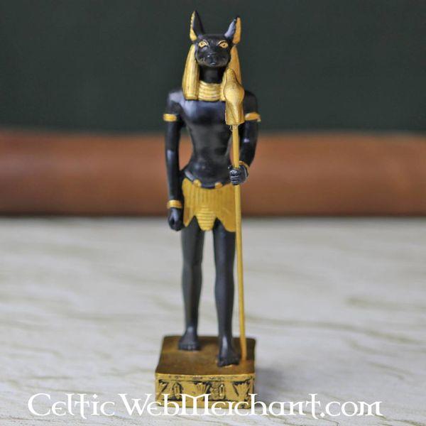 Egipski posąg boga Anubisa