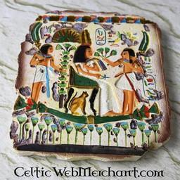 Egyptian relief, Queen Nefertari, temple of Nefertari, West Bank of Thebes