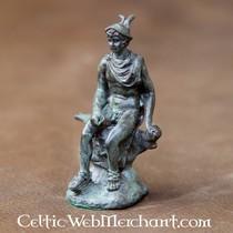 Statue en bronze grecque, Hermès (Mercure)