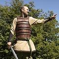Epic Armoury Armadura lamelar medieval temprana, marrón