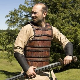 Epic Armoury Armatura lamellare medievale precoce, marrone