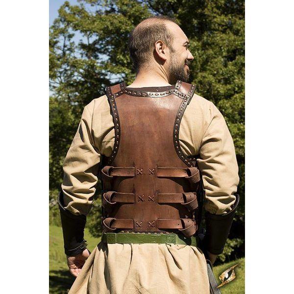 Epic Armoury Armure lamellaire du début du Moyen Âge, marron