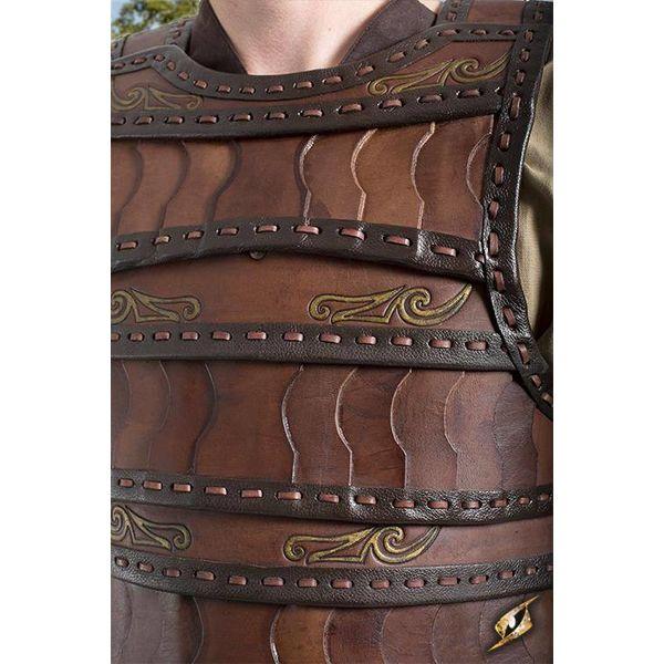 Epic Armoury Tidlig middelalder lamellar rustning, brun