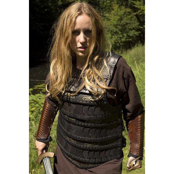 Epic Armoury Tidlig middelalder lamellar rustning, sort