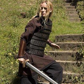 Epic Armoury Tidig medeltida lamellär rustning, svart