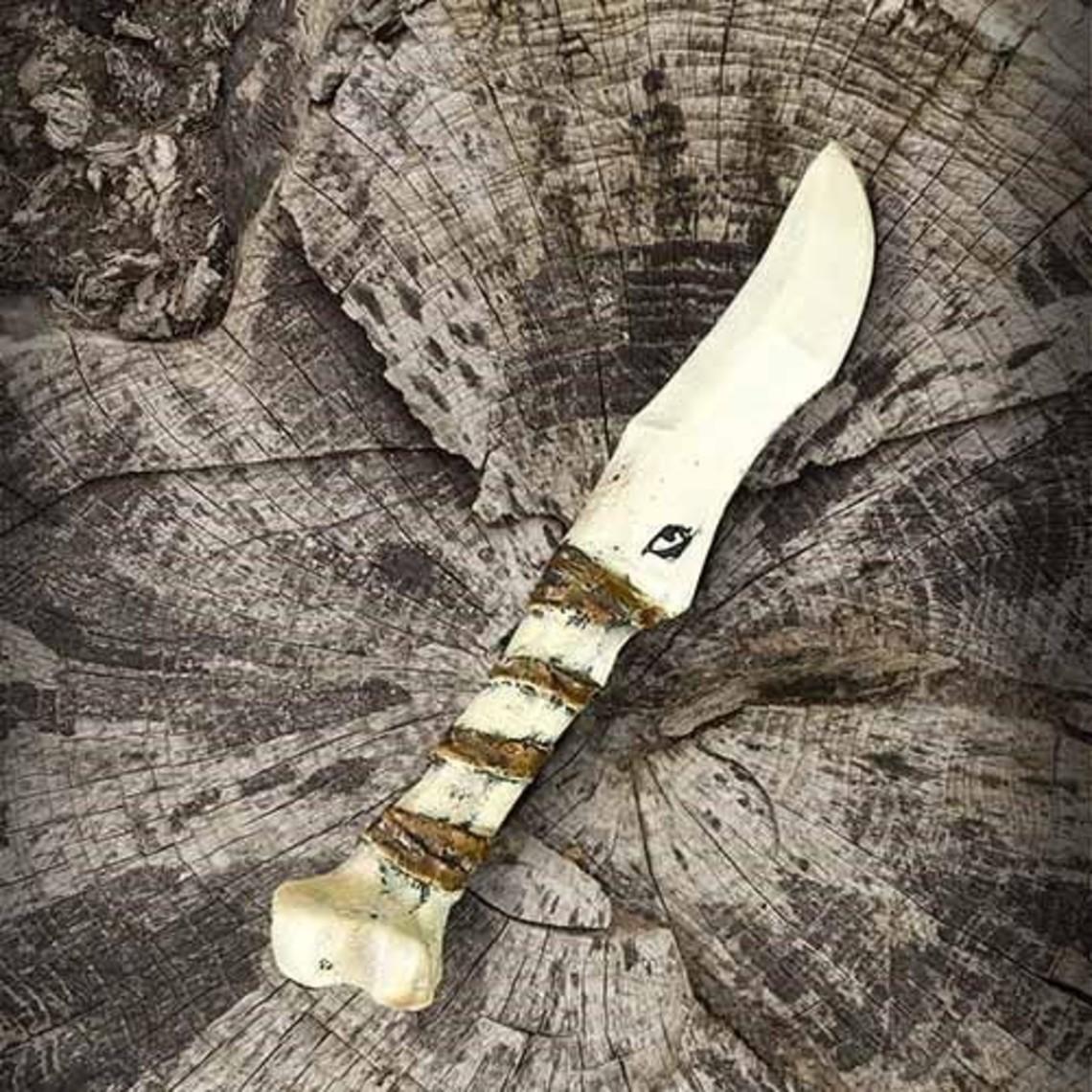 Epic Armoury cuchillo de hueso LARP