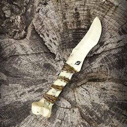 cuchillo de hueso LARP