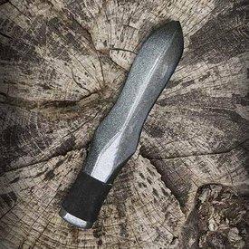 Epic Armoury Lanzar cuchillo con empuñadura de cuero, armas LARP