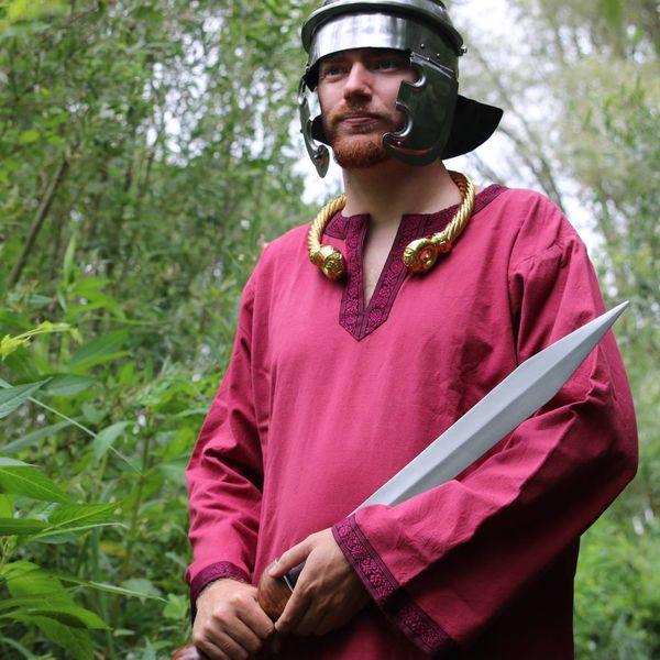 Leonardo Carbone Tunica celtico, maniche lunghe