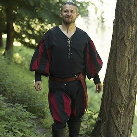 Epic Armoury Landsknecht Hose rot-schwarz