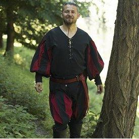 Epic Armoury Landsknecht spodnie czerwono-czarny
