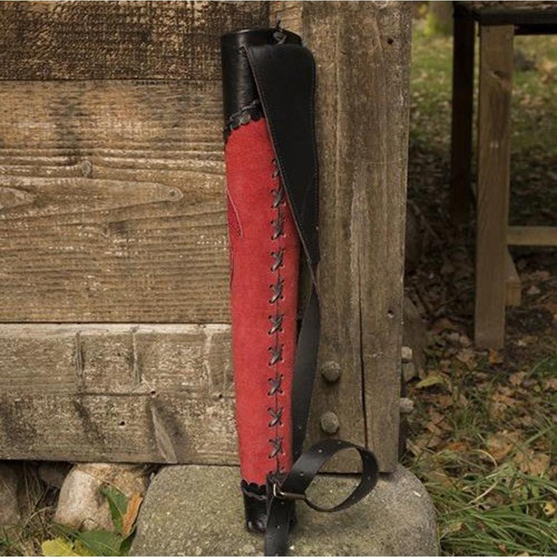 Epic Armoury Carquois archer rouge-noir