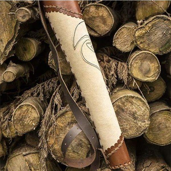 Epic Armoury Quiver arqueiro castanho-creme