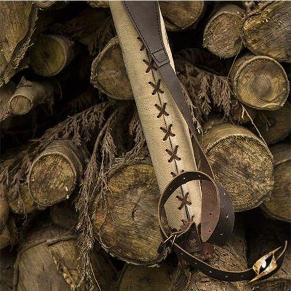 Epic Armoury Carquois crème brun archer