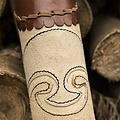 Epic Armoury Quiver arquero crema marrón
